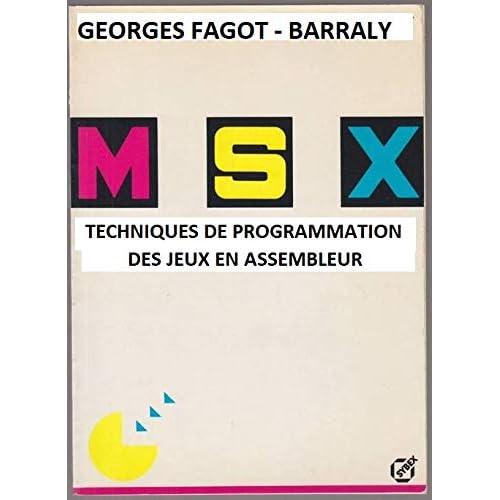 MSX, techniques de programmation des jeux en assembleur
