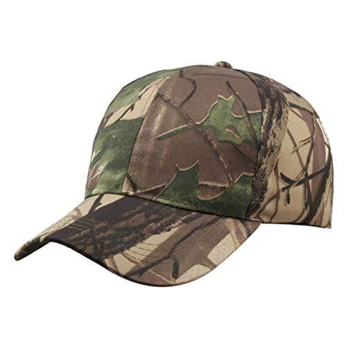 Morran Unisex Baseball Cap Herren Military Army Cap Baseball Caps für Damen Männer Unisex Sommer im Freien Camouflage Visier Baseball Cap Verstellbarer Hut