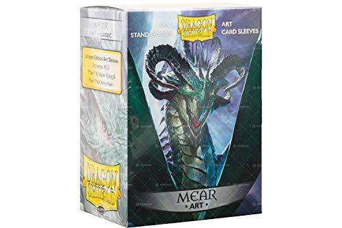 Arcane Tinmen ApS ART12012 Dragon Shield: Art Sleeves Classic MEAR limitiert, Mehrfarbig