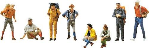 Faller 155319 - statuette di escursionisti, scala: 1:160