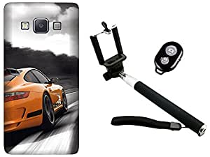 APE Back Cover and Selfie Stick for Samsung Galaxy J2