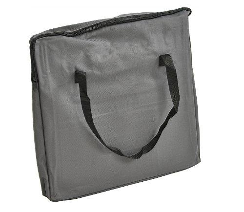 nanook Auto Transporttasche für Tiere / Transportbox – 43 cm – anthrazit – für Hunde, Katzen und Nager – mit Gurtbefestigung - 6