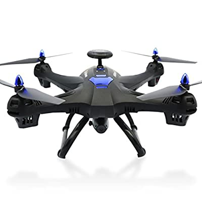Fulltime Mini Helicopter, Global Drone X183 GPS Brushless Quadcopter with 5GHz WiFi FPV 1080P Camera by Fulltime