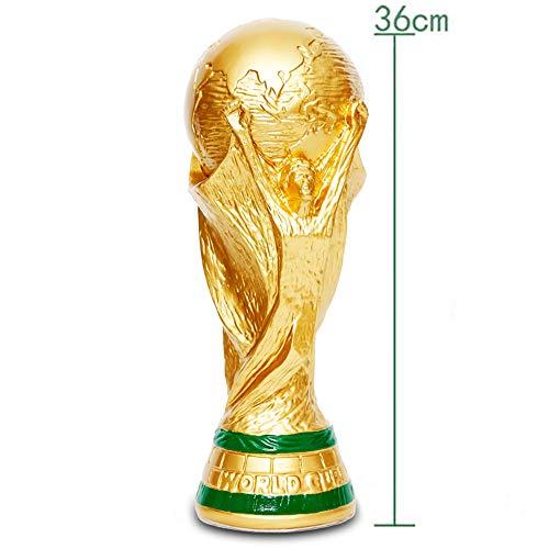 HUIHUANG Réplica de La Copa Mundial 2018, Trofeo de Fútbol Deportivo, Artesanía de Resina, Ceremonia...