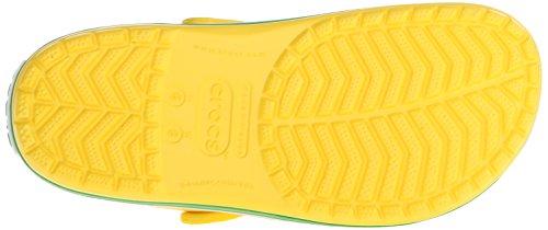 limone Unisex Di Zanne Scarpe Crocband Erba Giallo Colore Verde vwYSC1q