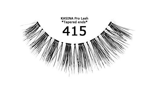[6PACKS] Kasina Pro estremità affusolate ciglia in 100% capelli umani