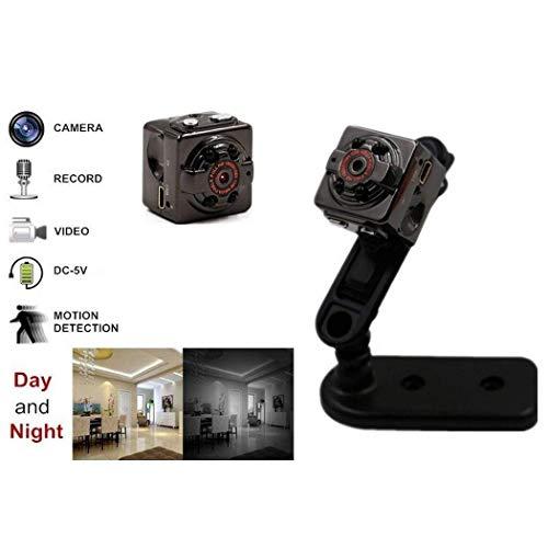 Mini cámara,  del Coche Video Recorder HD 1080P cámara detección de Movimiento IR Night Vision portátil cámara espía Oculta con visión Nocturna,  detección de Movimiento