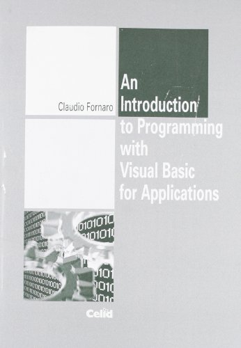 Introduction to Programming with Visual Basic for applications (An)
