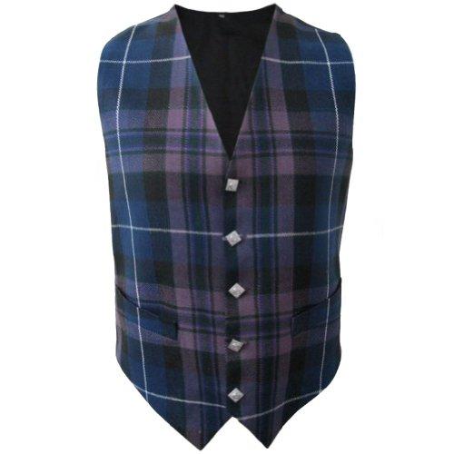Tartanista - Herren Weste mit Tartanmuster - irischer Stil - Honour of Scotland - Brust: 112 cm -