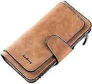 Baellerry Brand Leather Wallet Women Scrub Leather Lady Purses High Quality Ladies Clutch Wallet Long Female W