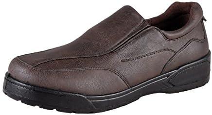 HSM - Mocasines para hombre marrón marrón oscuro