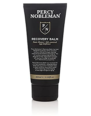 Recovery Balm by Percy Nobleman. Aftershave Balm. Post Shave. Oil Control Moisturiser for Men 100ml