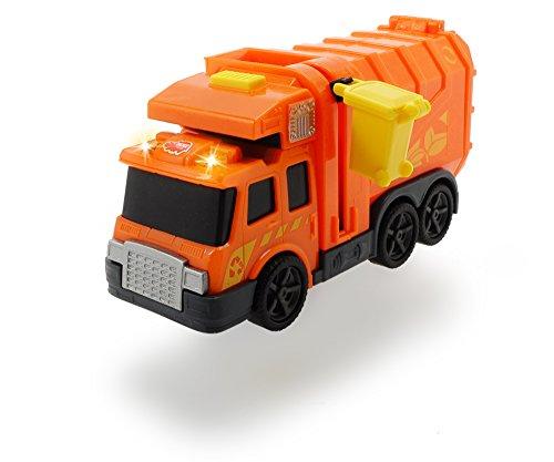 Dickie Toys 203302000 - Action Series City Cleaner, Müllabfuhr inklusive Batterien, 15 cm - Entsorgung Cleaner