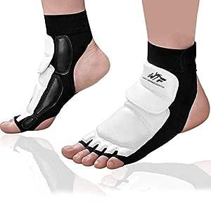 HealthyNeeds bouti1583 2 PCS Ankle Foot Elastic Compression Wrap Bandage Tae Kwon Bare Feet Loose