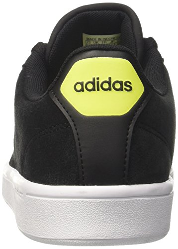 adidas Cloudfoam Advantage, Sneakers Basses Homme Noir (Core Black/solar Yellow)