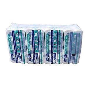 Toilettenpapier | WC Papier | Klopapier – 3 – lagig [96 Rollen] (EUR 0,25 / Rolle)