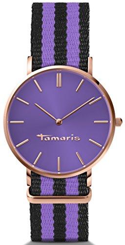 Tamaris Damen-Armbanduhr Analog Quarz B01265190