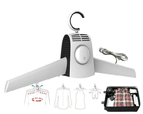 FWD plegable portátil secador de ropa secador de gamuza de secado rápido Traje percha vientos fríos y calientes ajustable