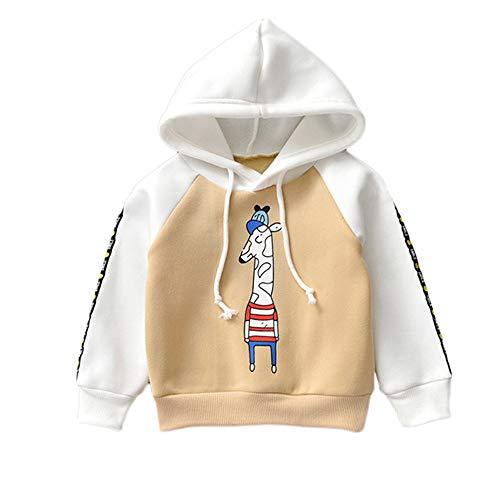 Covermason Baby Covermason Kinder Baby Mädchen Junge Tier Druck Sweatshirt Kapuzenpullover Pullover Top Kleider