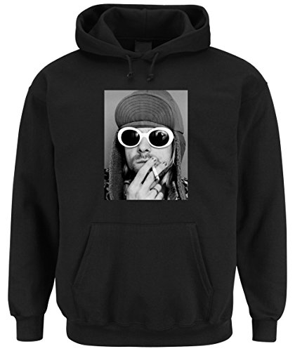 Pepper Black Gun (Kurt Smoking Hooded Sweater Black Certified Freak-L)