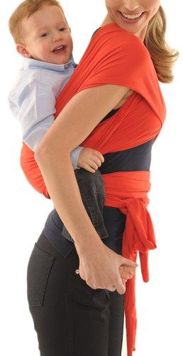 Quaranta Settimane - Babywrap Fascia porta bebè,da 0 a 3 anni,Blu Oceano