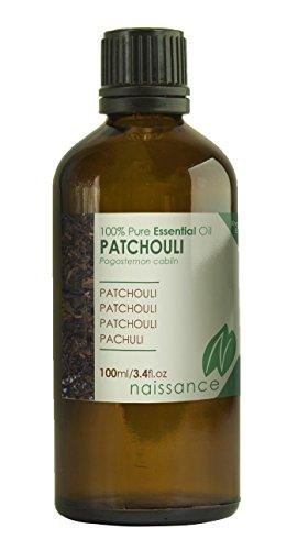 Naissance Patchouli 100ml 100% naturreines ätherisches Öl (Sinnliche Massage-lotion)