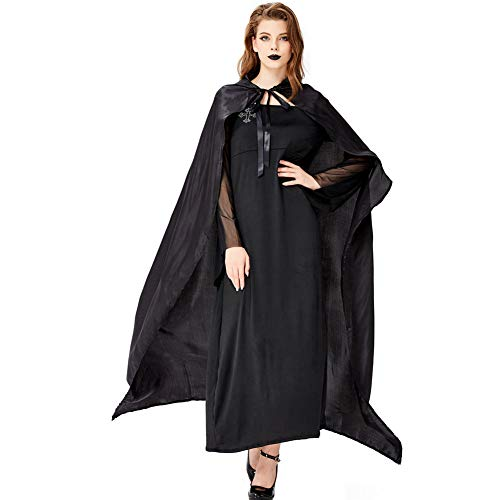 Kostüm Hunde Goblin - AIXIAOYU Halloween Cosplay Mantel Hexe Kostüme Goblin Vampir Robe Bühnenkostüm