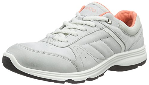 Ecco Ecco Light Iv, Chaussures Multisport Outdoor femme Gris - Grau (Concrete/Shadow White 54299)