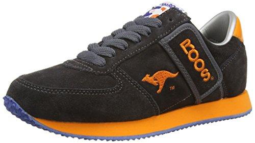 Kangaroos - Combat-Suede, Sneakers, unisex, grigio (charcoal), 38