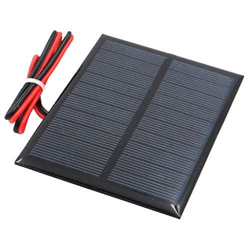 Descripción:       - Se puede aplicar a diferentes dispositivos, pecfect para uso diario. - Ligero, pequeño en tamaño y fácil de tomar. - Panel solar a prueba de agua con marco de aluminio de larga duración, se sorprenderá de cuánto tiempo du...