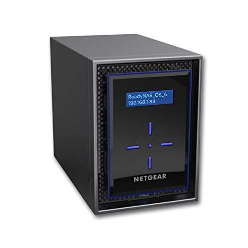 41Qh5zMq%2BwL. SS500  - NETGEAR ReadyNAS 424 4-Bay 8 TB (4 x 2 TB) Desktop HDD Network Attached Storage (RN424D2-100NES)