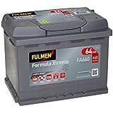 Fulmen - Batterie voiture FA640 12V 64Ah 640A - Batterie(s) - 563400061 ; D