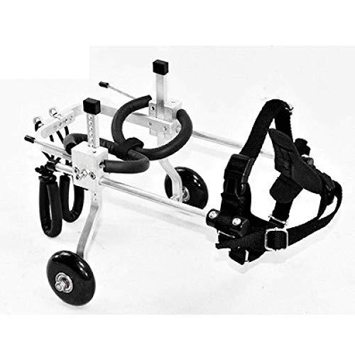 YSYW Haustier-Rollstuhl Sport Verstellbarer Hunderollstuhl Für Kleine