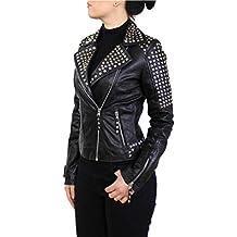 Suchergebnis auf für: Lederjacke Mit Nieten