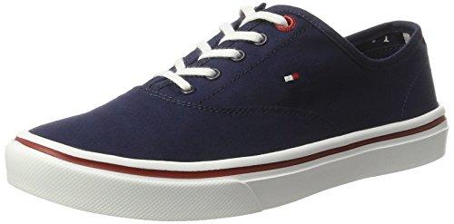 Tommy Hilfiger Damen DE SM M1285ARA 3D3 Sneaker Blau (Tommy Navy 406) 36 EU