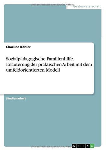 Sozialpädagogische Familienhilfe. Erläuterung der praktischen Arbeit mit dem umfeldorientierten Modell