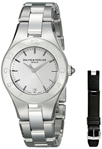 baume-and-mercier-linea-silver-dial-stainless-steel-ladies-watch-moa10070