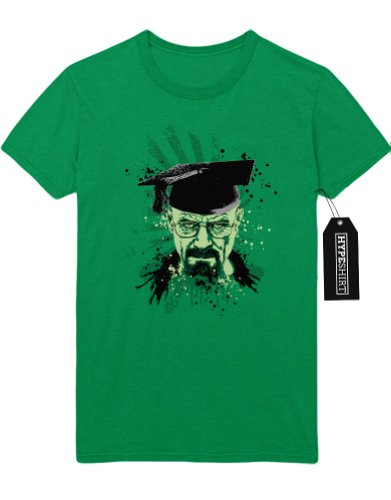 T-Shirt Walter White Graduation Cook C538921 Grün
