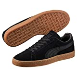 Puma Unisex-Erwachsene Suede Classic Natural Warmth Sneaker, Schwarz Black, 44 EU