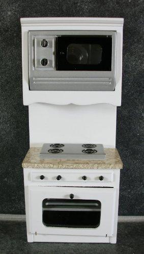 Casa Di Bambole Mobili Cucina In Miniatura Marmo Bianco Su