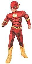 Rubie's Déguisement de super-héros DC de luxe pour enfant Taille L 8-10 ans