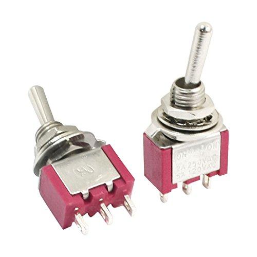 120-volt-schaltung (sourcing map 2Stk. NO NC SPDT ON-ON 2 Position Verschluss elektrisch Kippschalter AC 120V 5A de)