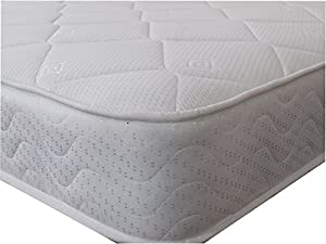"eXtreme Comfort Ltd CoolTouch Onion Luxury Microquilt Topped Memory Foam & Spring 7"" Deep Value For Money Mattress"
