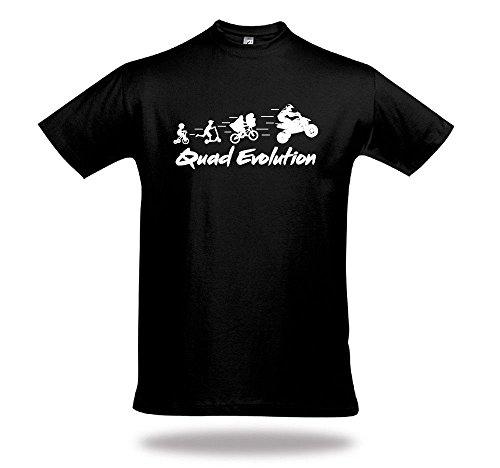 Shirtcharts Quad Evolution Shirt Unisex Motocrosssport Kraka Offroad ATV Quadzubehör
