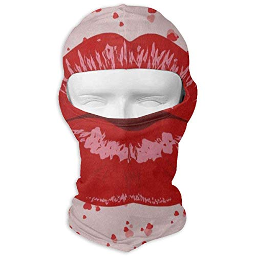 Balaclava Valentine's Day Pink Sakura Tree Cherry Blossom Full Face Masks Ski Headcover Cool Mens Motorcycle for Cycling Design3 -