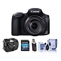 Canon PowerShot SX60 HS Digital Camera Bundle. USA. Value Kit with Acc 9543B001