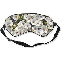 White Pure Daisy Flower 99% Eyeshade Blinders Sleeping Eye Patch Eye Mask Blindfold For Travel Insomnia Meditation preisvergleich bei billige-tabletten.eu