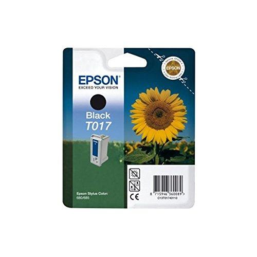 Epson T017 Cartouche d'encre d'origine Noire pour Stylus Color 680