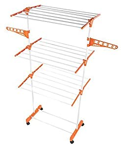 WebelKart Power Dryer Easy Cloth Drying Stand Laundry Drying Rack Stand