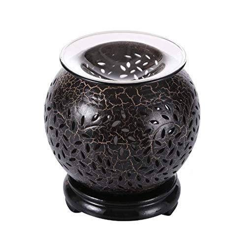 JHEY Lámpara clásica de la Fragancia, difusor de cerámica casero del Aroma de la decoración de la lámpara del Aceite Esencial